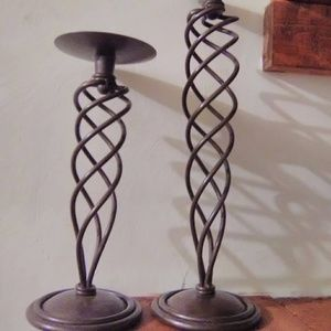 Oil rubbed bronze home Interior matching candlesti